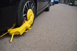 Wheelclamp In Amsterdam The Netherlands フォト