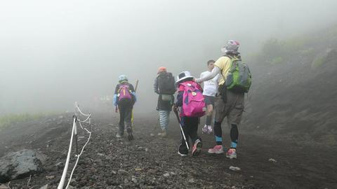 Mt Fuji in Japan Footage