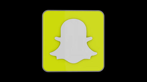 Snapchat 3D Logo Animation