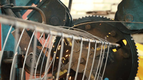 Production of metal wire products, Live Action