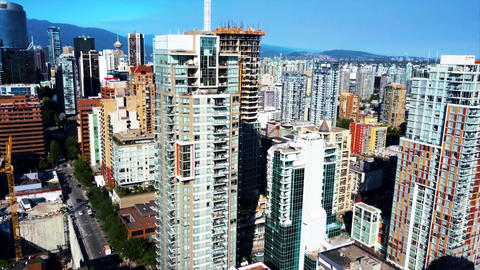 Vancouver real estate buildings Filmmaterial
