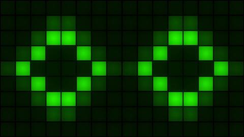 VJ Box Lights Flashing- Wall of Lights Stage Animation