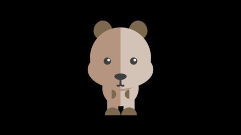Animated Bear Icon Animation