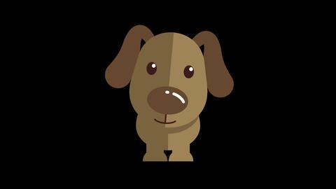 Animated Dog Icon Animation