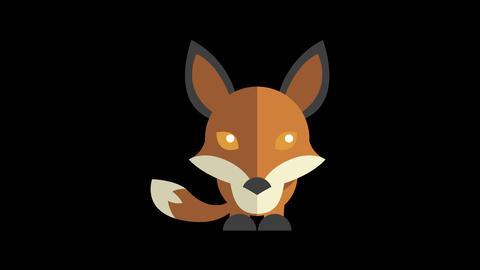 Animated Fox Icon Animation