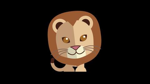 Animated Lion Icon Videos animados