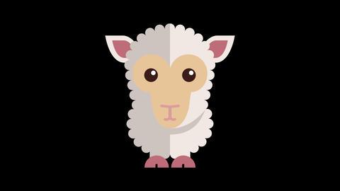 Animated Sheep Icon 画像