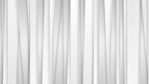 Grey white tech abstract vertical stripes video animation Animation