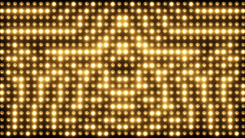 Wall of Flashing Cinematic Lights 画像