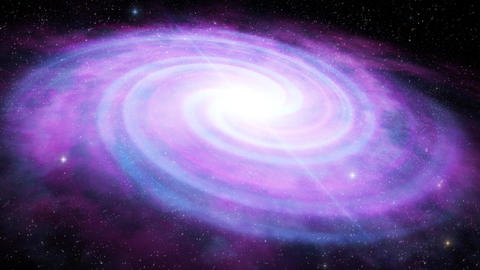3D Purple Space Galaxy Animation Background Backdrop Animation