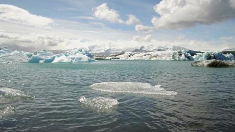 Jökulsárlón Glacial lagoon. Iceland 画像