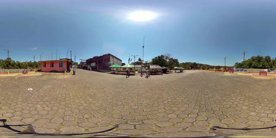 360Vr Puerto Misahualli Ecuador 360 Vr Spherical Video Footage