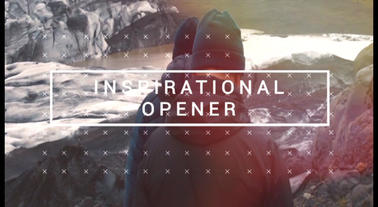Inspirational Opener Plantilla de After Effects
