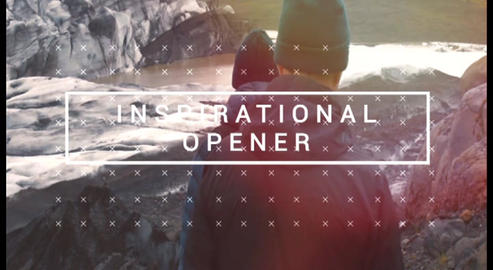 Inspirational Opener After Effects Template