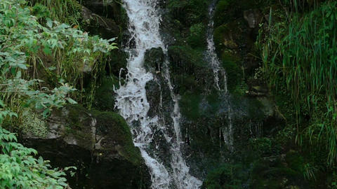 Waterfall in the Mountain Filmmaterial
