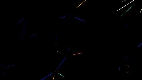 Neon Rays 4K 05 Vj Loop Animation