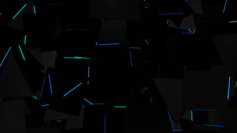 Neon Rays 4K 03 Vj Loop Animation