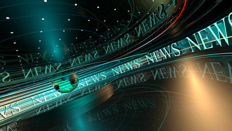 News Broadcast Background Animation