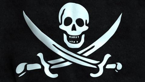 Calico Jack Pirate Flag Animation