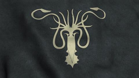 House Greyjoy Flag Waving Animation