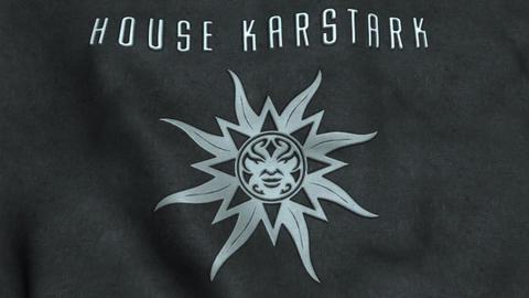House Karstark Flag Waving Animation