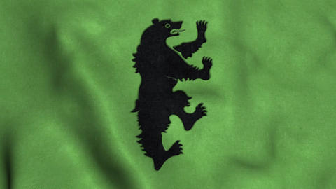 House Mormont Flag Waving Animation