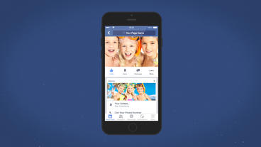 Facebook Mobile Intro - After Effects Template After Effectsテンプレート