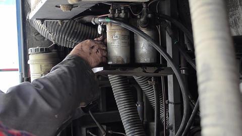 Mechanical repair a car engine that broke down 4 Footage