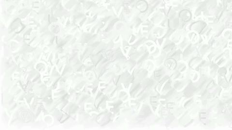 Animated words Love plain white background Animation