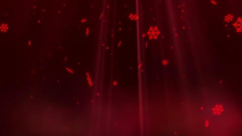 SHA BG Image Snow Red CG動画