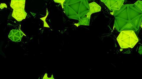 Glowing Geometry Shapes Loop Animation
