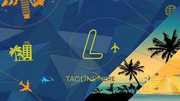 Travel & Tourism Logo Opener After Effects Templates
