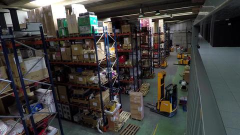 Inside A Warehouse Filmmaterial