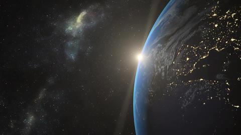 Earth 3D Animation Animación