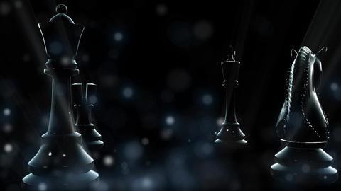 Chess 002 Blue CG動画