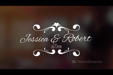 WeddingTitle3 Premiere Pro Template