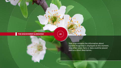 Discoverer slideshow After Effects Template