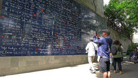 Je t'aime wall in Paris 画像