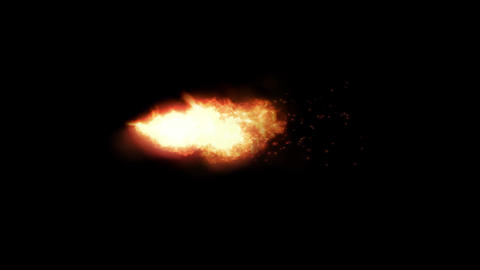 Rocket Fire Flame Animation Motion Graphic Element Animation