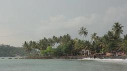 Ocean Bank. Ceylon. Sri Lanka stock footage