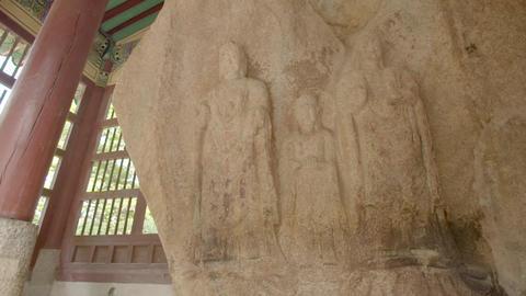 stone statue Footage