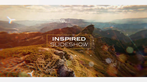 Inspired Slideshow After Effects Template