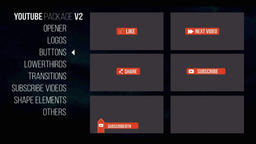 Youtube Package V2 Premiere Pro Template