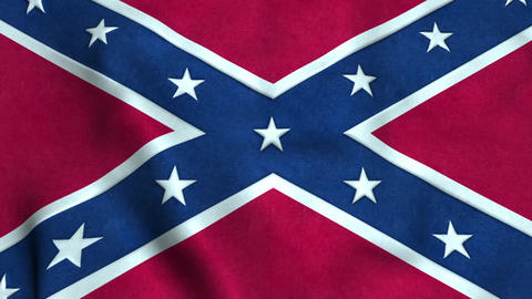 Confederate flag Animation