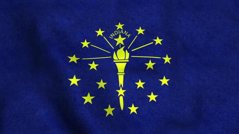 Indiana State Flag 画像