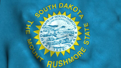 South Dakota State Flag Image