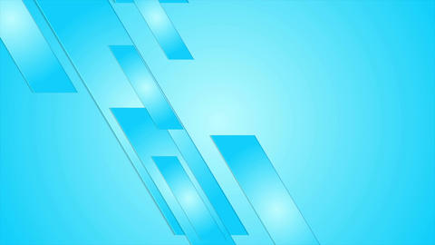 Blue geometric abstract hi-tech motion design Animation