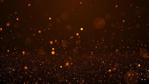 Romantic gold particles 画像