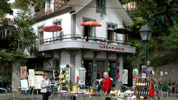 Portugal Madeira coffee house and souvenir shop in Monte village 画像