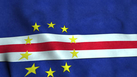 Cape verde Flag Bild